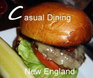 New England Casual Dining Restaurants