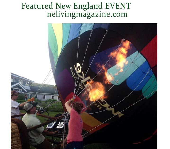 Stoweflake Balloon Festival Stowe Vermont
