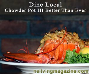 Chef owned ct dining at Chowder Pot III Branford CT