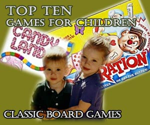 top Ten Board Games for young Children