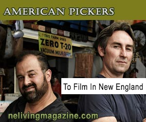 American Pickers History Channel Films in NH