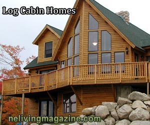 New England Log Cabin Homes from NH Log Homes