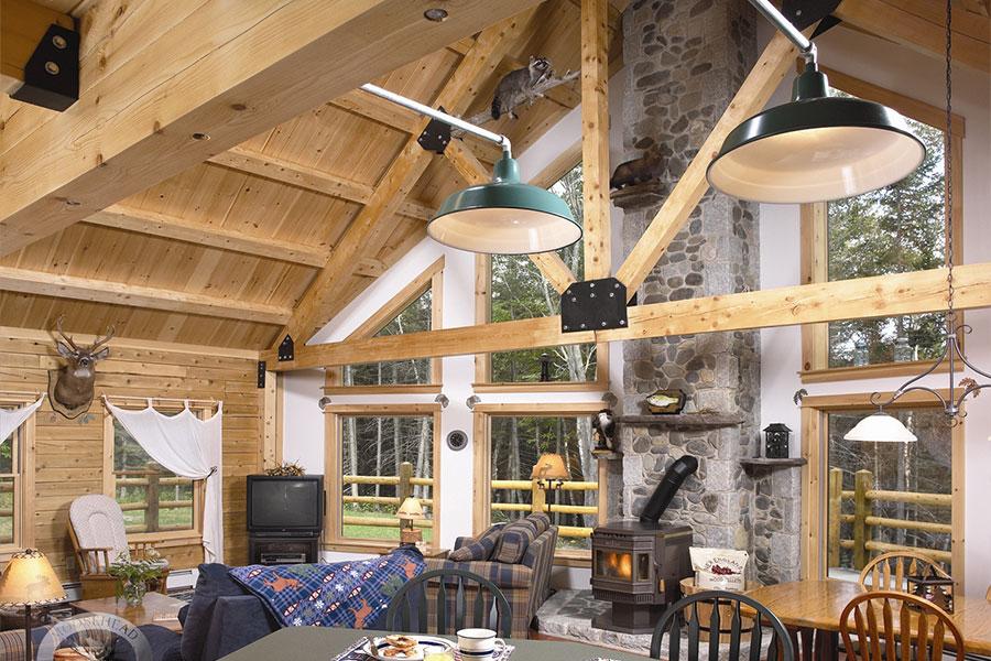 NH Log Cabin Homes