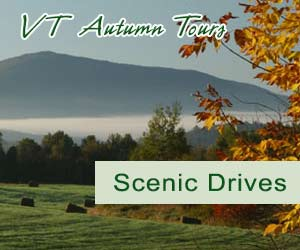 Scenic Vermont Fall Foliage Auto Drives