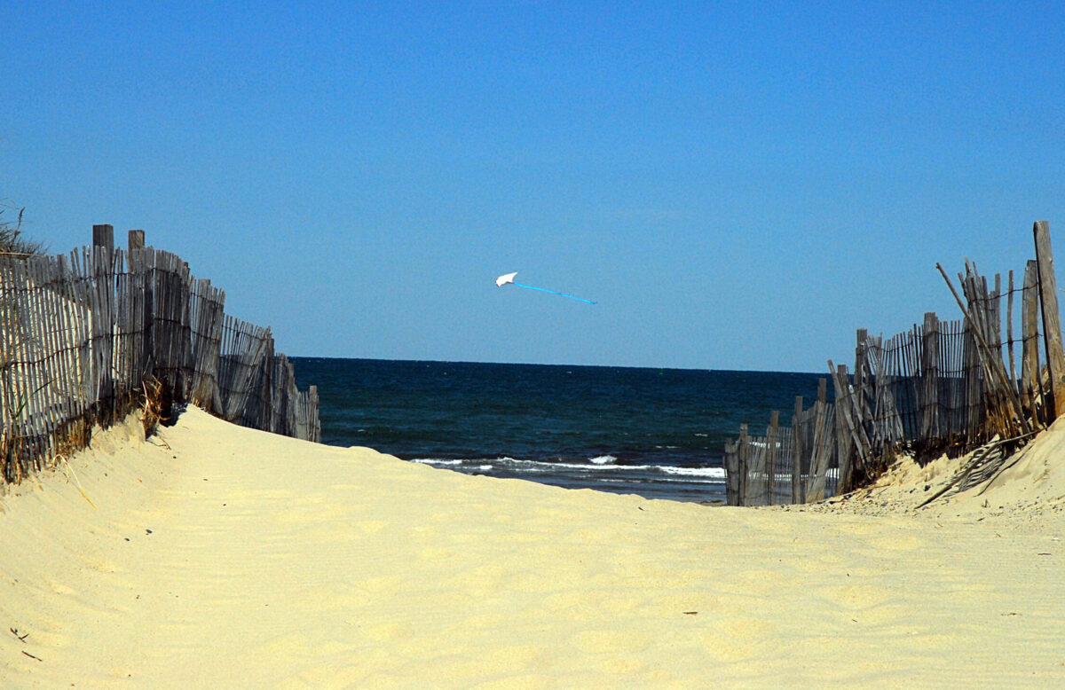 Massachusetts Beach on Cape Cod, MA