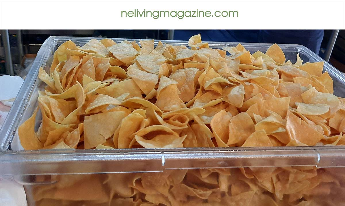 Tortilla Chips Tacos Loco Cocos Tacos Kittery Maine