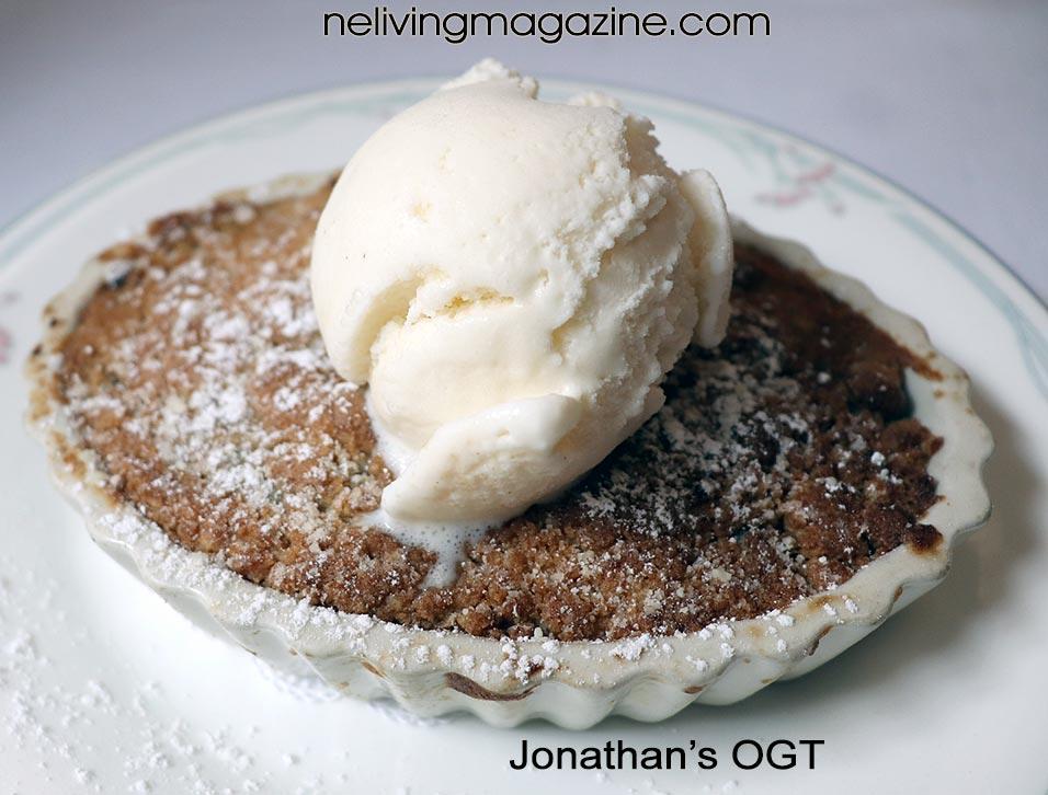 Dessert at Jonathan's Ogunquit