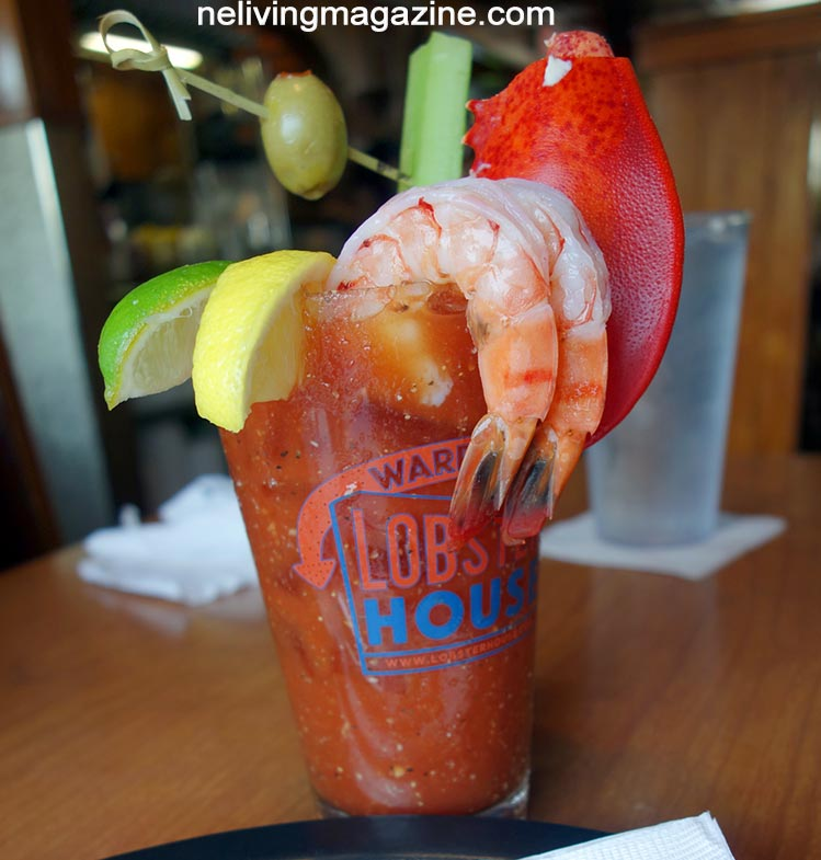Bloody Mary at Warren's Lobster House
