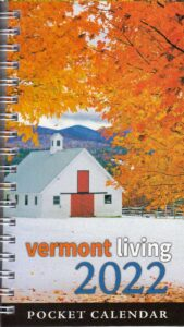 Vermont Living Pocket Calendar