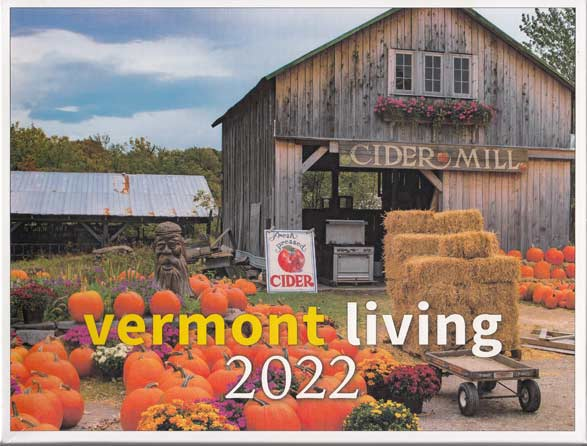 vt living wall calendar Vermont Photo Calendar from Vermont Living