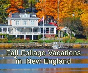 New England Fall Foliage Vacation Tours